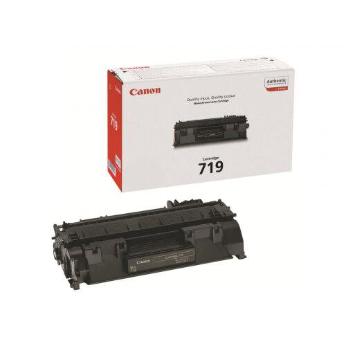 Canon 719 - Black - original - toner cartridge - for i-SENSYS LBP251, LBP252, LBP253, LBP6310, MF411, MF416, MF418, MF419, MF6140, MF6180