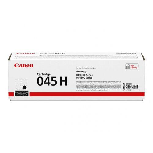 Canon 045 H - High capacity - black - original - toner cartridge - for ImageCLASS LBP612, LBP613, MF633, MF635; i-SENSYS LBP611, LBP613, MF631, MF633, MF635