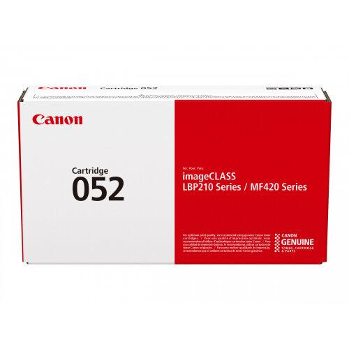 Canon 052 - Black - original - toner cartridge - for ImageCLASS LBP212, LBP215, MF426; i-SENSYS LBP212, LBP214, LBP215, MF421, MF426, MF429