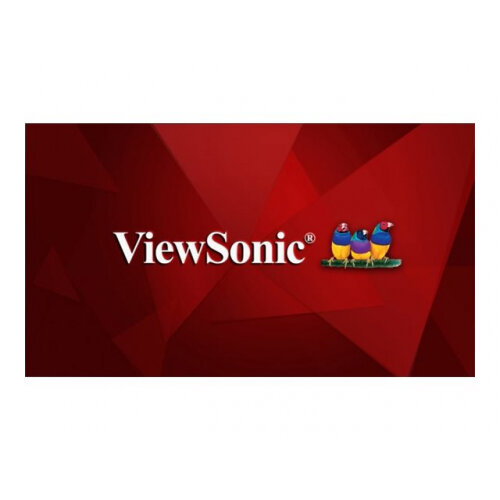 "ViewSonic CDE6510 - 65"" Class (64.5"" viewable) LED display - digital signage / interactive communication - 4K UHD (2160p) 3840 x 2160 - D-LED Backlight"