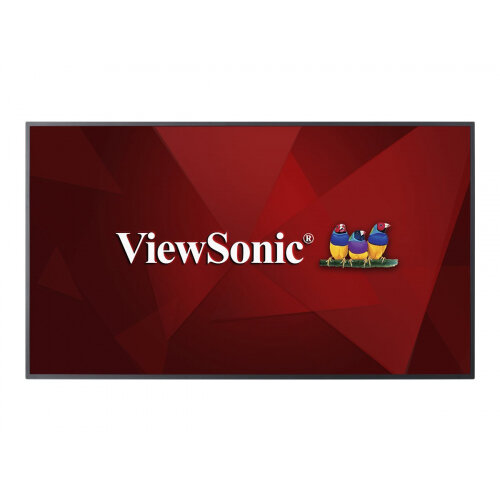 "ViewSonic CDE5510 - 55"" Class (54.6"" viewable) LED display - hotel / hospitality - 4K UHD (2160p) 3840 x 2160"