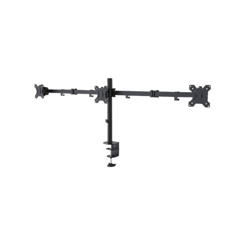 "NewStar FPMA-D550D3BLACK - Desk mount for 3 LCD displays - black - screen size: 10""-27"""