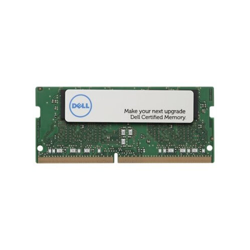 Dell - DDR4 - 8 GB - SO-DIMM 260-pin - 2400 MHz / PC4-19200 - 1.2 V - unbuffered - non-ECC - for Inspiron 13 7375, 15 35XX, 15 55XX, 20 3064, 5575, 5775; Latitude 7490