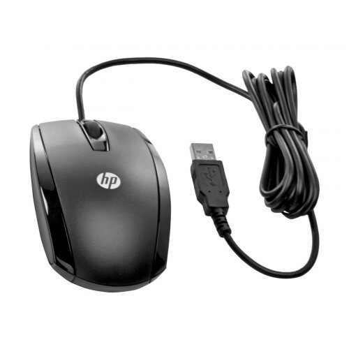 HP Essential - Mouse - wired - USB - for HP 250 G6; EliteBook 1040 G4; MX12 Retail Solution; Stream Pro 11 G4