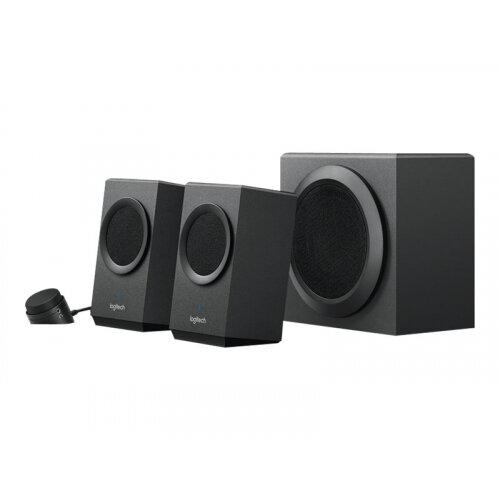 Logitech Z337 - Speaker system - 2.1-channel - wireless - Bluetooth - 40 Watt (Total)