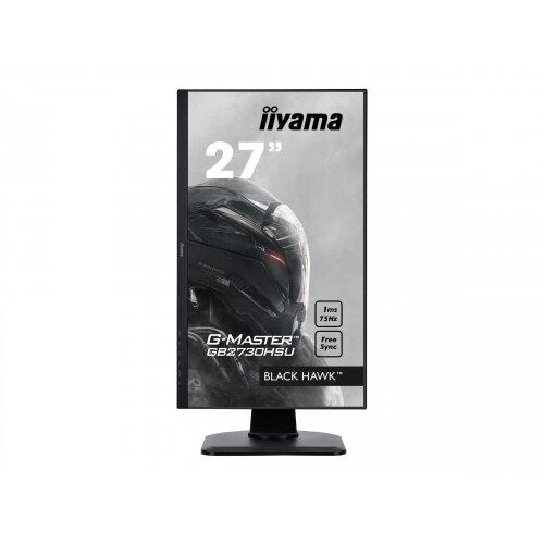 "Iiyama G-MASTER Black Hawk GB2730HSU-B1 - LED Computer Monitor - 27"" - 1920 x 1080 Full HD (1080p) - TN - 300 cd/m² - 1000:1 - 1 ms - HDMI, VGA, DisplayPort - speakers - black"
