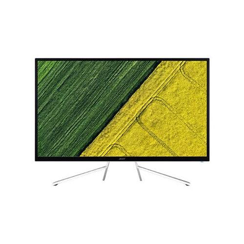 "Acer ET322QK - LED Computer Monitor - 31.5"" - 3840 x 2160 4K - VA - 300 cd/m² - 4 ms - 2xHDMI, DisplayPort - speakers - white"
