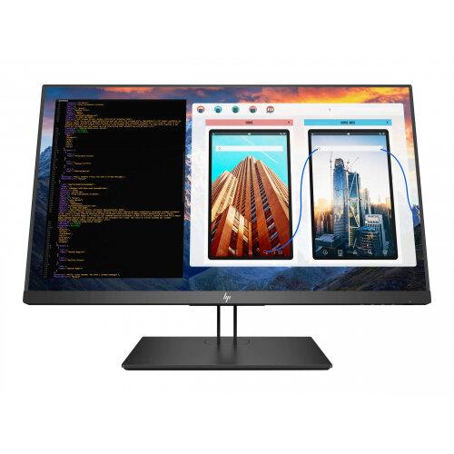"""HP Z27 - LED Computer Monitor - 27"""" (27"""" viewable) - 3840 x 2160 4K UHD (2160p) - IPS - 350 cd/m² - 1300:1 - 8 ms - HDMI, DisplayPort, Mini DisplayPort, USB-C - Black Pearl"""
