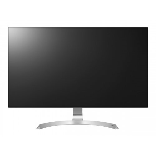 "LG 32UD99 - LED Computer Monitor - 31.5"" - 3840 x 2160 4K - IPS - 350 cd/m² - 1300:1 - 5 ms - 2xHDMI, DisplayPort, USB-C - speakers - white (back), silver spray front and base, white/silver spray stand"