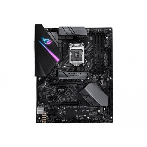 ASUS ROG STRIX H370-F GAMING - Motherboard - ATX - LGA1151 Socket - H370 - USB 3.1 Gen 1, USB-C Gen2, USB 3.1 Gen 2 - Gigabit LAN - onboard graphics (CPU required) - HD Audio (8-channel)