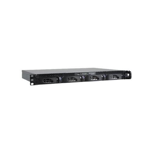 NETGEAR ReadyNAS 2304 - NAS server - 4 bays - 8 TB - rack-mountable - SATA 6Gb/s - HDD 2 TB x 4 - RAID 0, 1, 5, 6, 10, JBOD - RAM 2 GB - Gigabit Ethernet - iSCSI - 1U