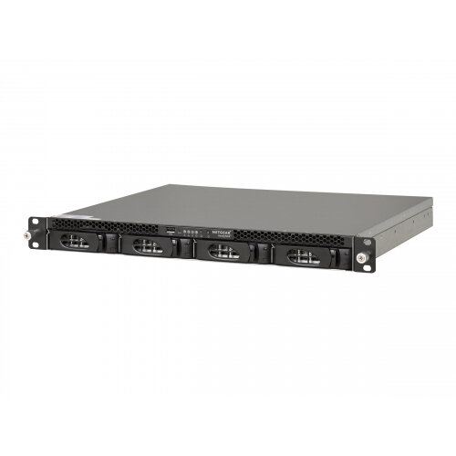 NETGEAR ReadyNAS 3138 RN31843E - NAS server - 4 bays - 12 TB - rack-mountable - HDD 3 TB x 4 - RAID 0, 1, 5, 6, 10, JBOD - RAM 4 GB - Gigabit Ethernet - iSCSI - 1U