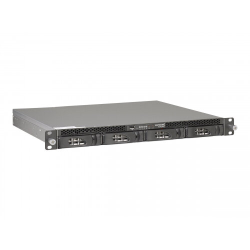NETGEAR ReadyNAS 3138 RN31844E - NAS server - 4 bays - 16 TB - rack-mountable - HDD 4 TB x 4 - RAID 0, 1, 5, 6, 10, JBOD - RAM 4 GB - Gigabit Ethernet - iSCSI - 1U