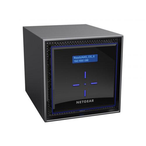 NETGEAR ReadyNAS 422 - NAS server - 2 bays - 4 TB - SATA 6Gb/s - HDD 2 TB x 2 - RAID 0, 1, 5, 6, 10, JBOD - RAM 2 GB - Gigabit Ethernet - iSCSI