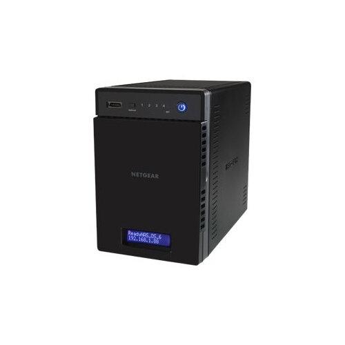 NETGEAR ReadyNAS 214 - NAS server - 4 bays - 8 TB - SATA 3Gb/s - HDD 2 TB x 4 - RAID 0, 1, 5, 6, 10, JBOD - RAM 2 GB - Gigabit Ethernet - iSCSI
