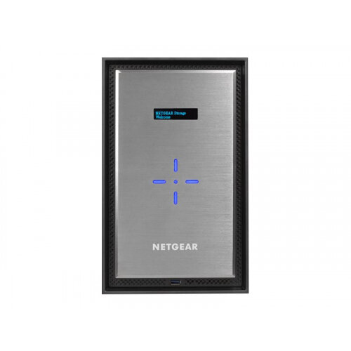 NETGEAR ReadyNAS 628X - NAS server - 8 bays - SATA 6Gb/s - HDD - RAID 0, 1, 5, 6, 10, JBOD - RAM 8 GB - Gigabit Ethernet / 10 Gigabit Ethernet - iSCSI