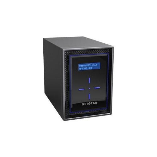 NETGEAR ReadyNAS 422 - NAS server - 2 bays - RAID 0, 1, 5, 6, 10, JBOD - RAM 2 GB - Gigabit Ethernet - iSCSI