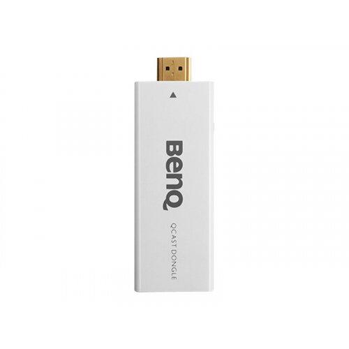 BenQ Qcast - Network media streaming adapter - 802.11b, 802.11g, 802.11n - for BenQ GP20, GP30, MW665, MW724, MW853, MX600, MX602, MX723, MX852, W1070, W1080, W1350
