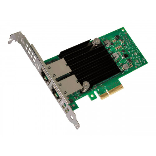 Intel Ethernet Converged Network Adapter X550-T2 - Network adapter - PCIe 3.0 low profile - 10Gb Ethernet x 2