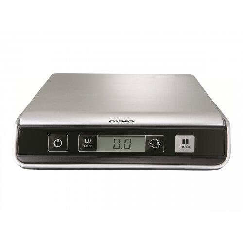 DYMO M10 - Postal scales - capacity: 4.5 kg / 10 lbs - graduation: 2 g / 0.1 oz - 20 cm x 20 cm