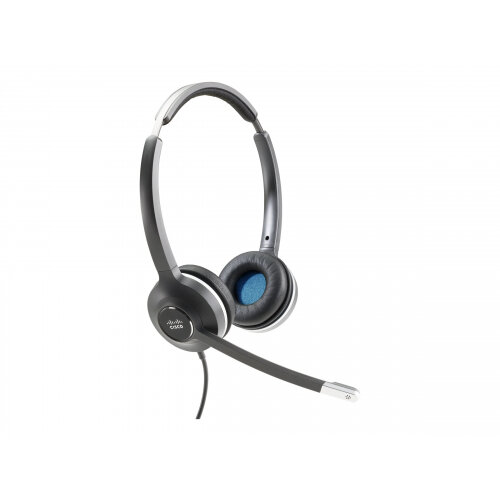 Cisco 532 Wired Dual - Headset - on-ear - wired - for IP Phone 6841, 8845, 8865NR
