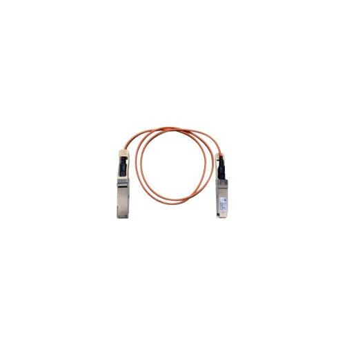 Cisco - Network cable - QSFP+ to QSFP+ - 3 m - fibre optic - SFF-8436 - active - beige