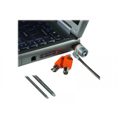 Kensington MicroSaver Custom Keyed Ultra Notebook Lock - Master - Security cable lock - silver - 1.8 m