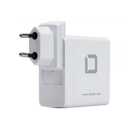 Dicota Universal Travel Notebook Charger USB-C - Power adapter - 45 Watt