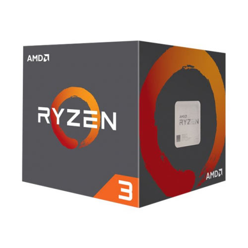 AMD Ryzen 3 1300X - 3.5 GHz - 4 cores - 4 threads - 8 MB cache - Socket AM4 - Box
