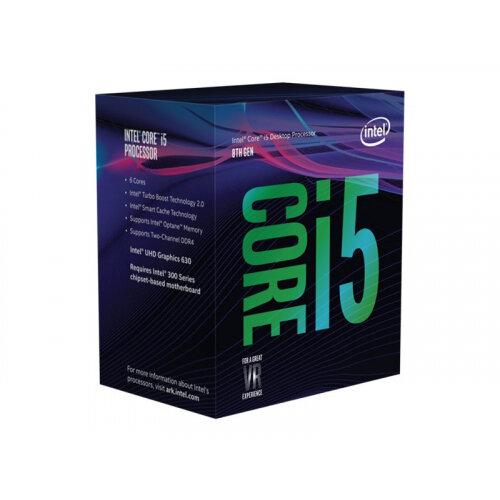 Intel Core i5 8600K - 3.6 GHz - 6-core - 6 threads - 9 MB cache - LGA1151 Socket - Box