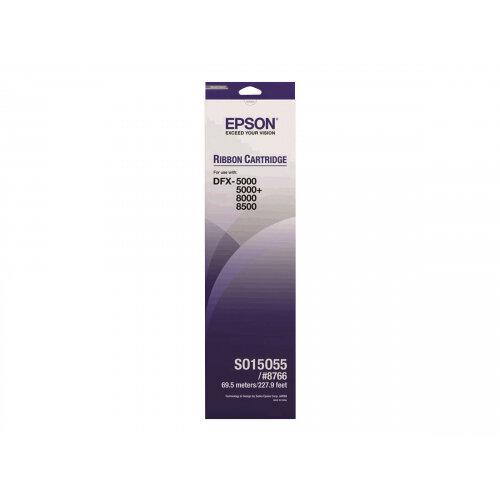 Epson - 1 - black - printer fabric ribbon - for DFX 5000, 8000, 8500
