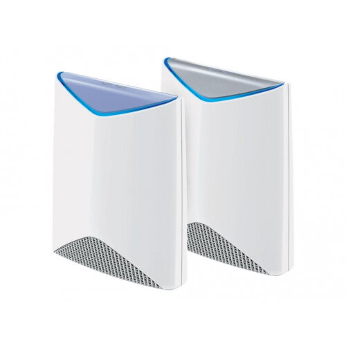 NETGEAR Orbi Pro SRK60 - Wi-Fi system (router, extender) - up to 5,000 sq.ft - GigE - 802.11a/b/g/n/ac - Tri-Band - wall-mountable, ceiling-mountable