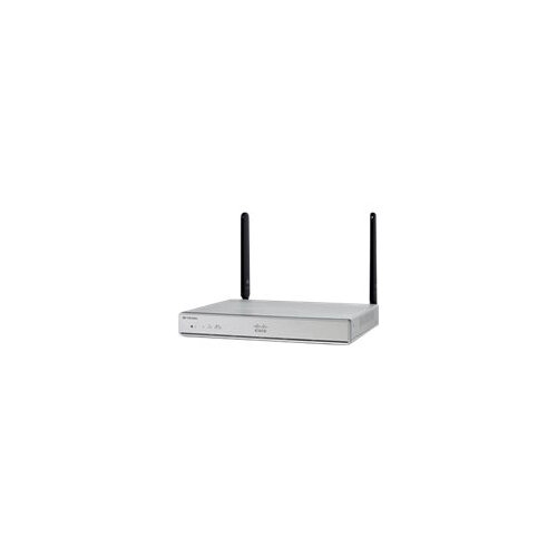 Cisco Integrated Services Router 1117 - Router - DSL modem - 4-port switch - GigE, 802.11ac Wave 2 - 802.11a/b/g/n/ac Wave 2 - Dual Band