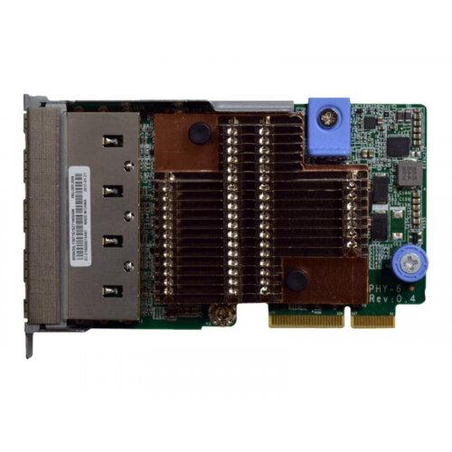 Lenovo ThinkSystem - Network adapter - LAN-on-motherboard (LOM) - 10Gb Ethernet x 4 - for ThinkSystem SR630; SR650; SR850; SR860; SR950