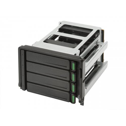 "HP High Density 4 Bay Storage Kit - Storage bay adapter - 2 x 3.5"" to 4 x 2.5"" SFF"