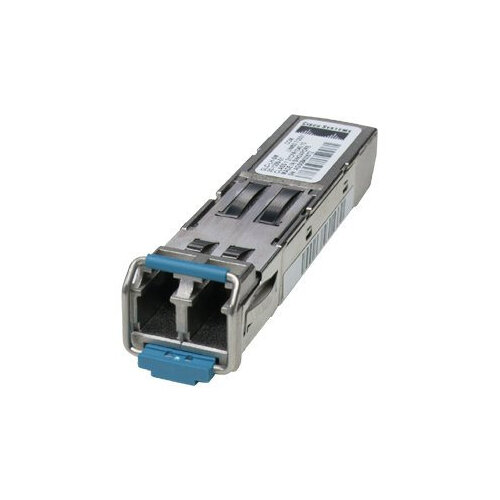 Cisco - SFP (mini-GBIC) transceiver module - GigE - 1000Base-EX - LC/PC single-mode - up to 40 km - 1310 nm