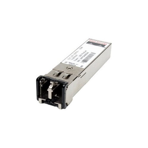 Cisco - SFP (mini-GBIC) transceiver module - 100Mb LAN - 100Base-FX - LC multi-mode - up to 2 km - 1310 nm - for Catalyst 2960, 2960-24, 2960-48, 2960G-24, 2960G-48, 2960S-24, 2960S-48, 3560, 3560-12