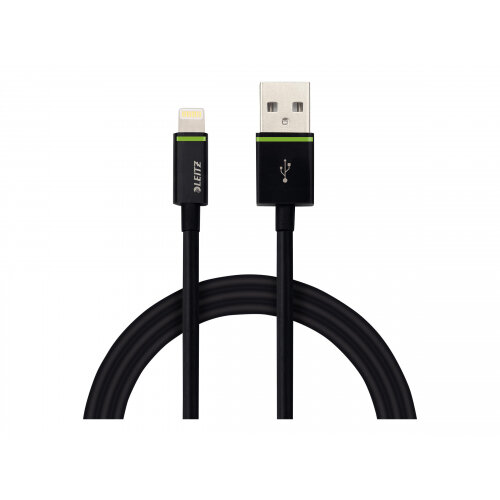 Leitz XL - Lightning cable - USB (M) to Lightning (M) - 2 m - for Apple iPad/iPhone/iPod (Lightning)
