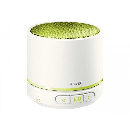 Leitz WOW - Speaker - for portable use - wireless - Bluetooth - 3 Watt - green metallic