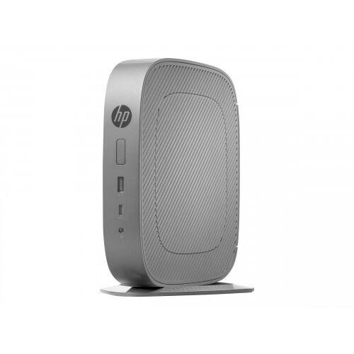 HP t530 - Thin client - Tower Desktop PC - 1 x GX-215JJ 1.5 GHz - RAM 4 GB - flash 8 GB - MLC - Radeon R2E - GigE - HP ThinPro - monitor: none