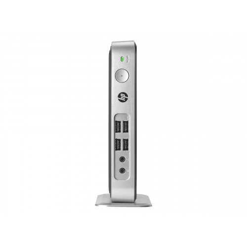 HP t310 G2 - Zero client - DTS Desktop Slimline PC - 1 x Tera2321 - RAM 512 MB - SSD - eMMC 32 GB - MLC - GigE - no OS - monitor: none - keyboard: UK - promo