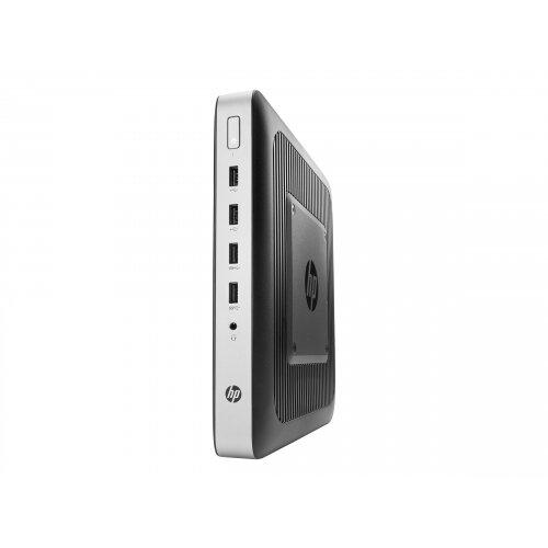 HP t630 - Thin client - Tower Desktop PC - 1 x GX-420GI 2 GHz - RAM 4 GB - flash 8 GB - Radeon R7E - GigE - HP ThinPro - monitor: none