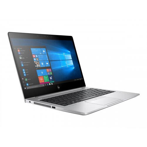 "HP EliteBook 830 G5  Laptop - Core i5 8250U / 1.6 GHz - Win 10 Pro 64-bit - 16 GB RAM - 256 GB SSD NVMe - 13.3"" IPS 1920 x 1080 (Full HD) - UHD Graphics 620 - Wi-Fi, Bluetooth - kbd: UK - Up to 13 Hours Battery Life"