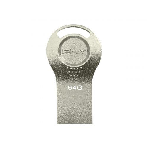 PNY Attaché i - USB flash drive - 64 GB - USB 2.0