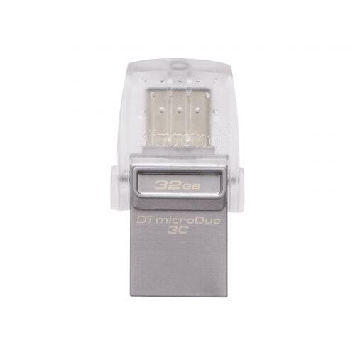 Kingston DataTraveler microDuo 3C - USB flash drive - 32 GB - USB 3.1 / USB-C