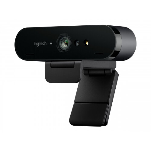 Logitech BRIO 4K Ultra HD webcam - Web camera - colour - 4096 x 2160 - audio - USB