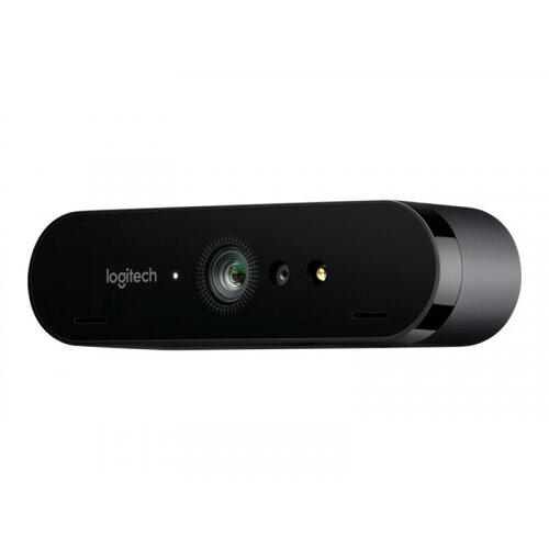 Logitech BRIO STREAM - Web camera - colour - 4096 x 2160 - 1080p, 4K - audio - USB
