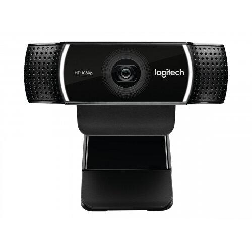 Logitech HD Pro Webcam C922 - Web camera - colour - 720p, 1080p - H.264