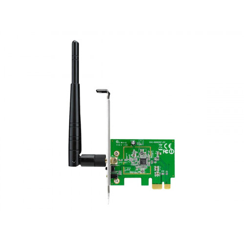 ASUS PCE-N10 - Network adapter - PCIe low profile - 802.11b, 802.11g, 802.11n