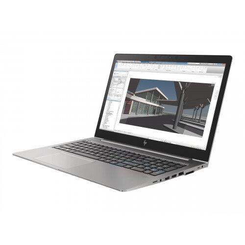 "HP ZBook 15u G5 Mobile Workstation - Laptop Core i5 7200U / 2.5 GHz - Win 10 Pro 64-bit - 8 GB RAM - 256 GB SSD NVMe - 15.6"" IPS 1920 x 1080 (Full HD) - Radeon Pro WX 3100 / HD Graphics 620 - Wi-Fi, Bluetooth - turbo silver - kbd: UK"